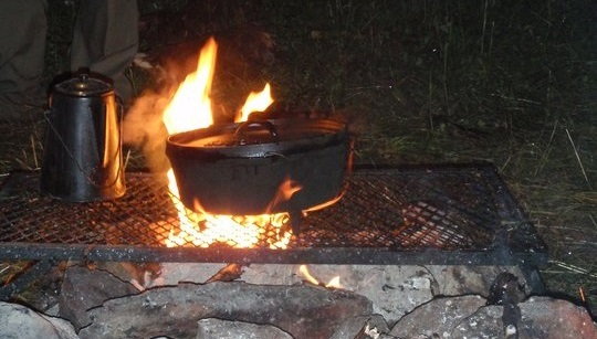 Car Camping - Cooking Heat Source - www.carcamping.org